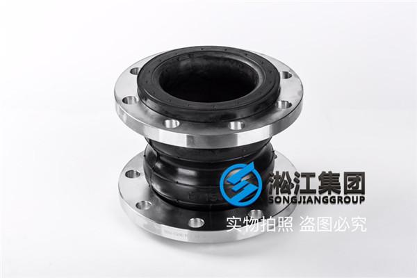 设备管道配套用的DN150 双球橡胶接头中间带环吗?