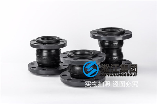 换热器DN50 PN16橡胶接头,介质是热水