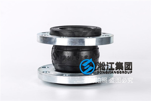 安装公司配套DN80橡胶软接头