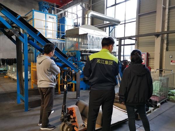 2020年10月橡胶接头客户到南通工厂参访