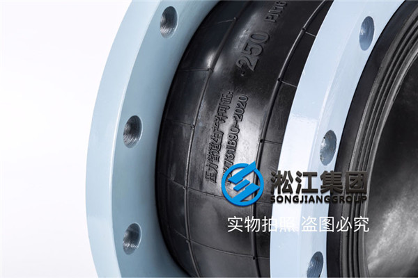 酒店350RT冷却水泵搭载16kg耐老化橡胶软接头