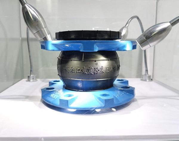 1吨水处理设备10kg可曲挠减震接头安装问题